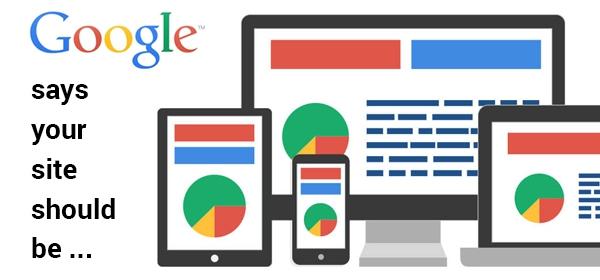 Référencement Google : responsive et sécurisé !