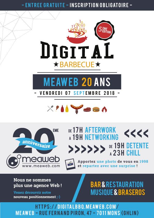 20 ans MeaWeb et 5ème Digital BBQ !