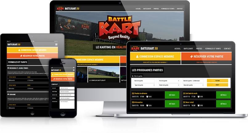 BattleKart Europe S.A. - Portail Internet et outils de gestion