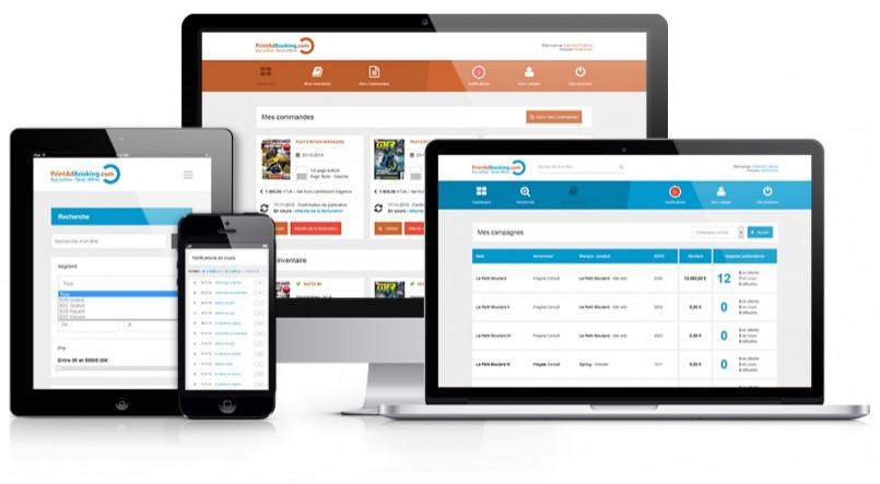 PrintAdBooking - Application web de gestion d'inventaires