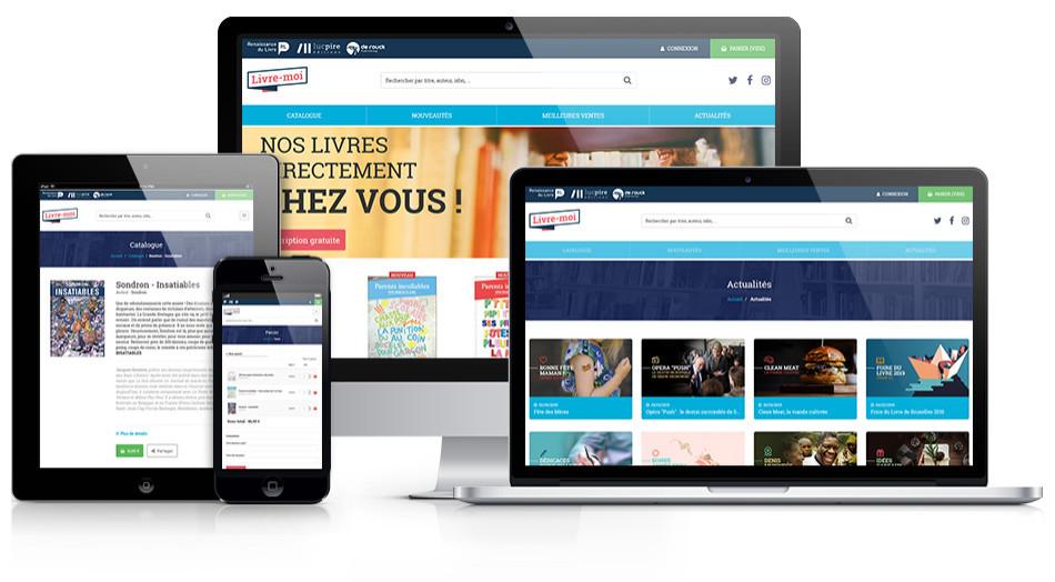 Livre-moi.be - Plateforme E-commerce