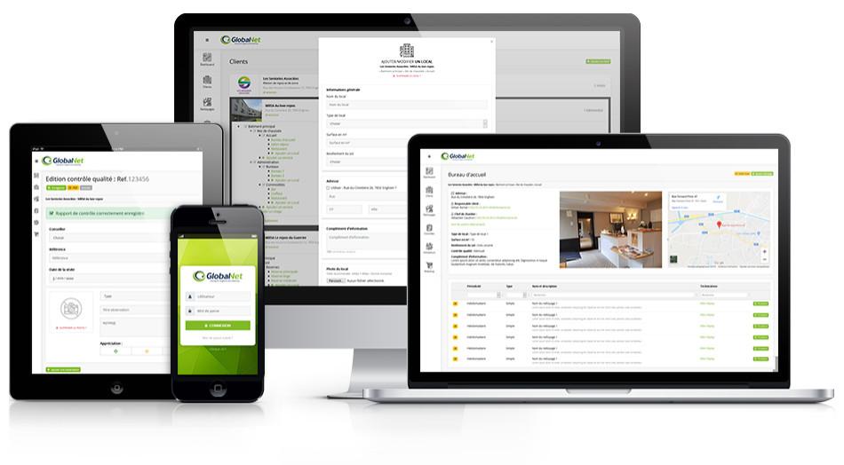 GlobalNet - Application de gestion des nettoyages
