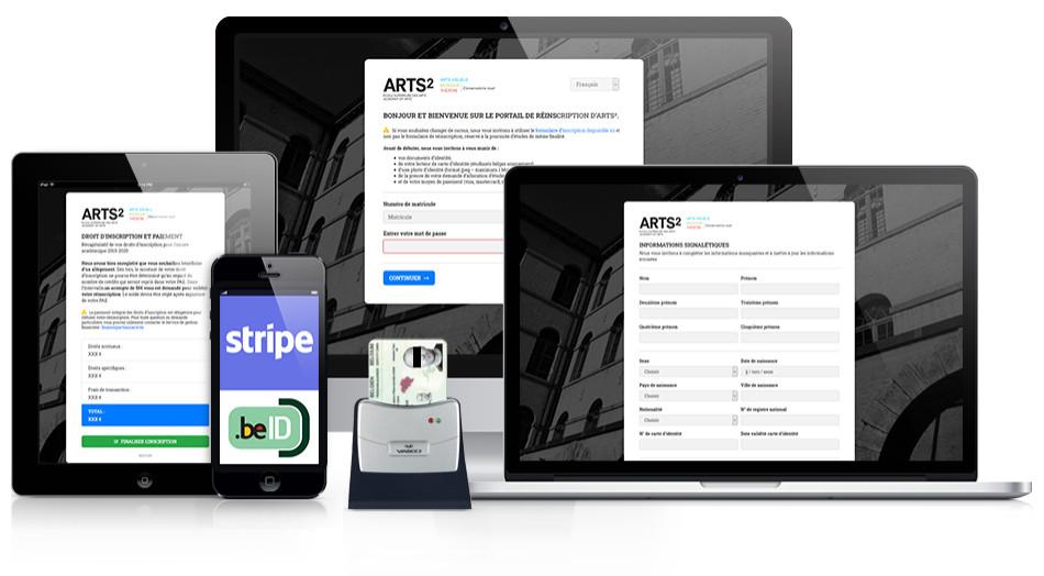 ARTS² - Application de gestion